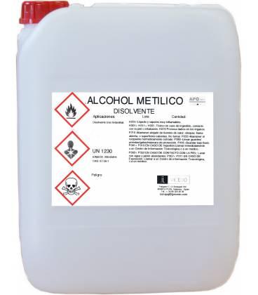 ALCOHOL METÍLICO